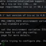 """Fix """"Requested icu-uc 50.1 but version of icu-uc is"""" trên DirectAdmin"""